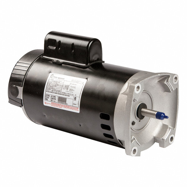 Century 1 1 2 hp square flange pool pump motor permanent for Square flange pool pump motor