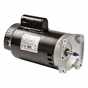 Century 1 1 2 hp square flange pool pump motor permanent for 1 2 hp pool motor