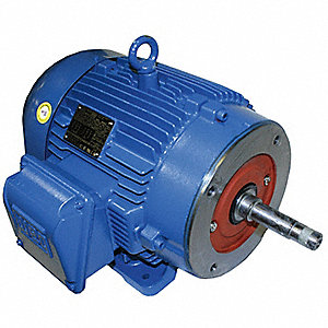 5 HP Close-Coupled Pump Motor,3-Phase,1755 Nameplate RPM,208-230/460 Voltage,184JM