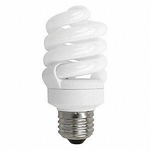 Screw-In CFL,Non-Dimmable,2700K,13W