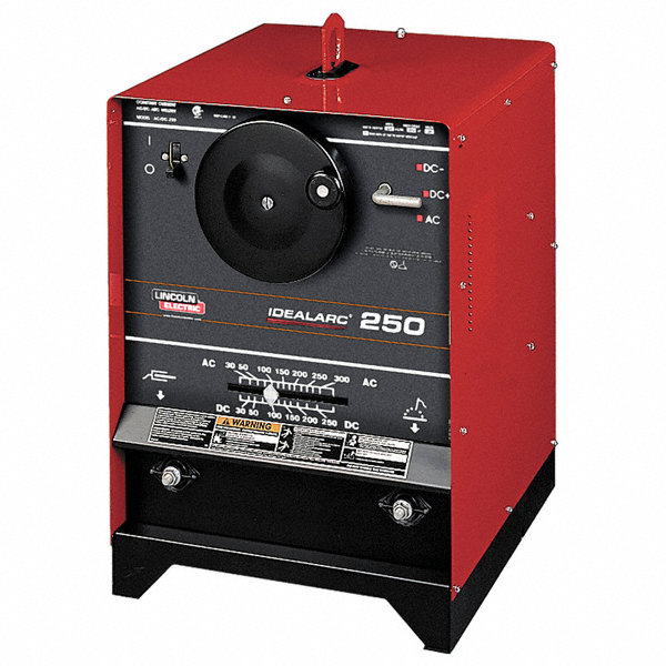 Lincoln electric stick welder idealarc 250 series input for Lincoln electric motors catalog