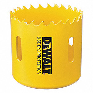 "7/8""-Dia. Hole Saw for Metal, 1-7/16"" Max. Cutting Depth, 4/5 Teeth per Inch"