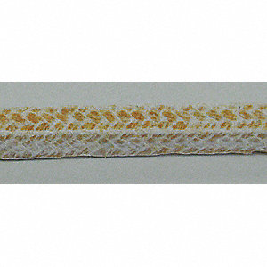 5 ft. Kynol , Aramid, Acrylic Compression Packing Seal, Gold