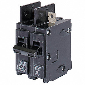 Bolt On Circuit Breaker, 30 Amps, Number of Poles:  2, 240VAC AC Voltage Rating