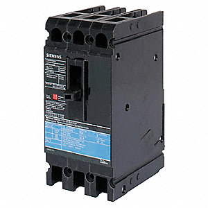 Circuit Breaker,  35 Amps,  Number of Poles:  3,  480VAC AC Voltage Rating