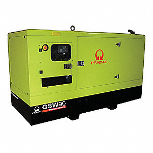 Liquid Engine Cooling, 120/240VAC Voltage, Engine Size: 4.4L, 70 kVA Rating, 1 Phase