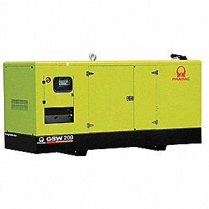 Liquid Engine Cooling, 120/240VAC Voltage, Engine Size: 6.6L, 219 kVA Rating, 3 Phase