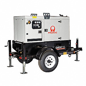 Towable Standby Generator,14 kW