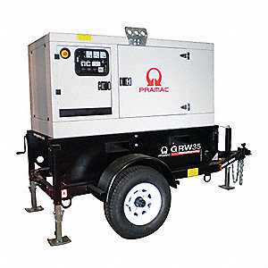 Towable Standby Generator,30 kW