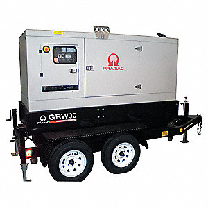 Towable Standby Generator,82 kW