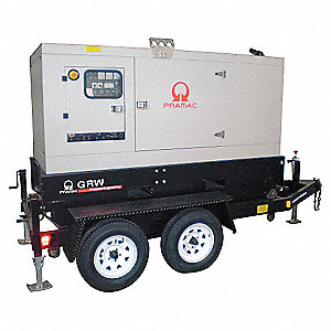 Towable Standby Generator,140 kW