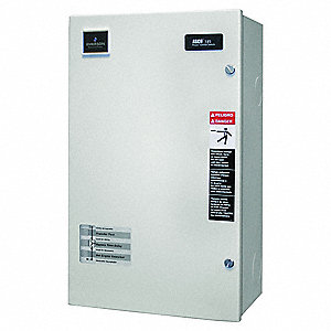 Automatic Transfer Switch,240V,24 In. H