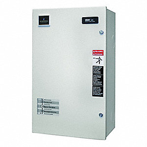 Automatic Transfer Switch,208V,63 In. H