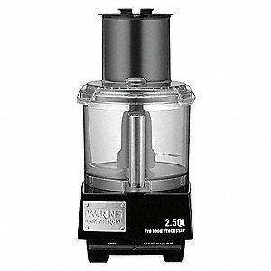 2.5 Qt Batch Bowl Food Processor, Gray