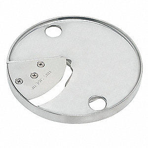 "6 5/8"" x 6 5/8"" x 4"" 3 mm Stainless Steel Slicing Disc&#x3b; For 6FTJ0"