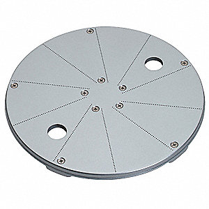 "10 1/4"" x 10 1/4"" x 6 3/8"" .4 mm Stainless Steel Pulping Disc&#x3b; For 6FTJ2, 6FTJ3"