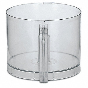 "10 1/4"" x 10 1/4"" x 17 1/2"" Polycarbonate Batch Bowl; For 6FTJ4"