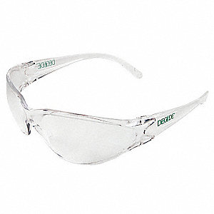 Decade Bio  Sosa Scratch-Resistant Safety Glasses, Clear Lens Color