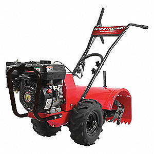 Rear Tine Tiller,196cc,10 In. Depth