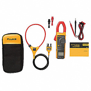 "Clamp On Digital Clamp Meter, 1-7/16"" Jaw Capacity, CAT IV 600V, CAT III 1000V"