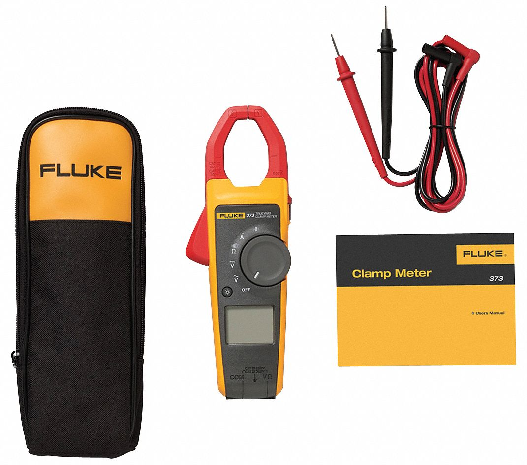Clamp On Digital Clamp Meter, 1.3 in (33mm) Jaw Capacity, CAT III 600V, CAT IV 300V