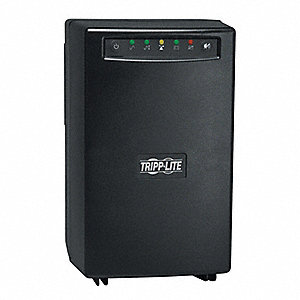UPS System, 1.5kVA Power Rating, 115/120VAC Output Voltage, Number of Outlets: 8