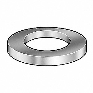 1.55mm A2 Stainless Steel (Comparable to 18-8 Stainless Steel) Conical Washer with Plain Finish