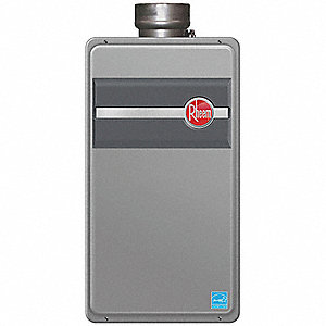 "13-7/8"" x 9-7/8"" x 25-5/8"" LP Gas Tankless Water Heater with 11,000-180,000 Input (BTU)"