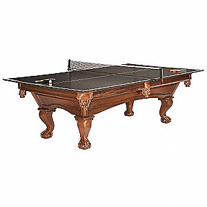 Table Tennis Conversion Top&#x3b; For Use With Pool Table: 6FZP8