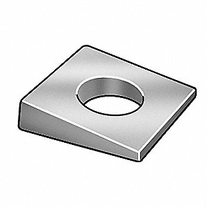Square Washer,M8,Pk10