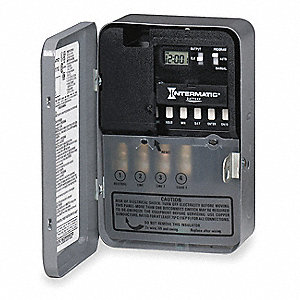 intermatic electronic timer  30 amps  120vac voltage