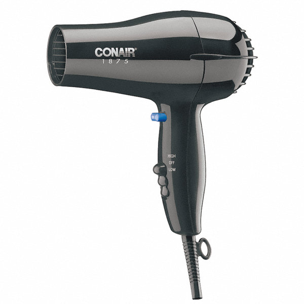 conair blow dryer conair hairdryer handheld black 1875 watts 6gam4 247bw 12172