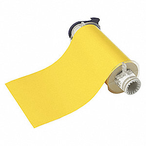 Tape,Yellow,7 In. W,50 ft. L