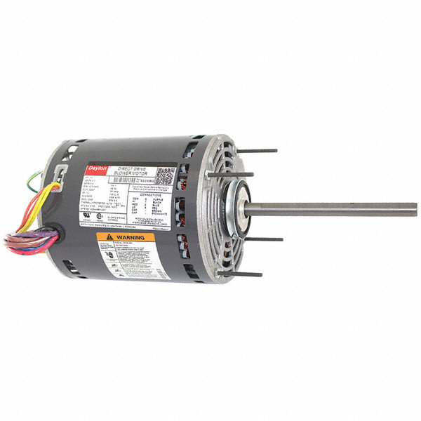 Direct Drive Blowers Product : Dayton hp direct drive blower motor permanent split