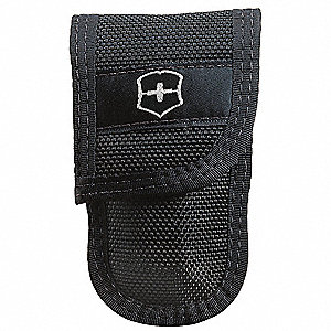 "Knife Pouch, Black Nylon, 4-1/2"" Height, 2"" Width, 1-1/2"" Depth"