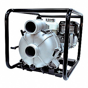 6.5 HP Aluminum 196cc Engine Driven Centrifugal Pump, 3.8 qt. Tank Capacity