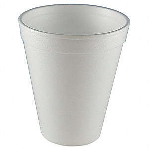 CUP,DISPOSABLE,12 OZ, WHITE,PK 1000