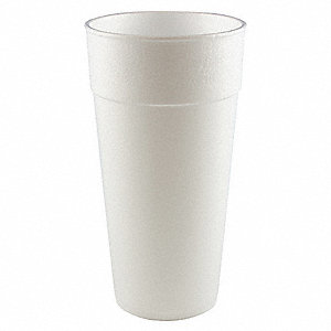 Disp. Cold/Hot Cup,24 oz.,White,PK300