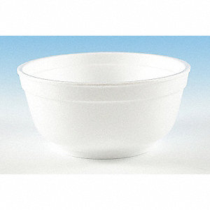 BOWL,DISPOSABLE,12OZ.,WHITE,PK 1000