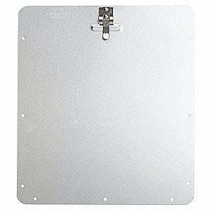 "10-4/5"" x 10-4/5"" Aluminum Back Plate Placard Holder"