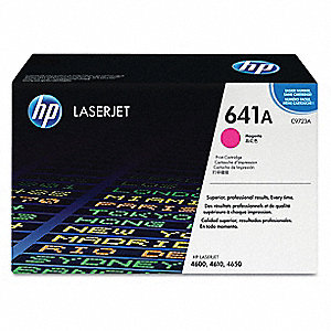 Magenta Toner Cartridge No. HP 641A, New, 8000 Max. Page Yield