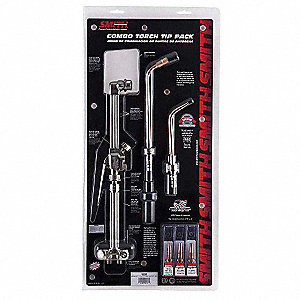 Combo Torch And Tip Kit, Any Fuel Gas Fuel
