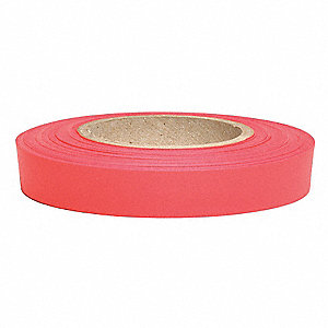 "Flagging Tape, Red Glo, 1/2"" x 150 ft., Nursery"