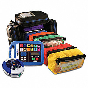 Medical Kit,344 PC,10 Yr. Warranty AED