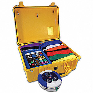 Medical Kit,100 Ppl,10 Yr. Warranty AED