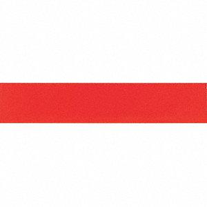 SHELF MARKER,6 W X 1-1/4 IN. H,RED