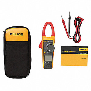 "Clamp On Digital Clamp Meter, 1-1/3"" Jaw Capacity, CAT IV 600V, CAT III 1000V"
