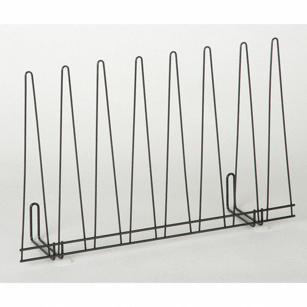 grainger approved glove drying rack  silver  powder coated