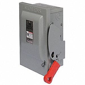 Safety Switch,600VAC,3PST,100 Amps AC