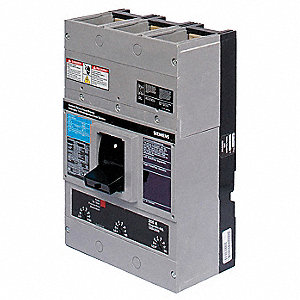 Circuit Breaker,  300 Amps,  Number of Poles:  3,  240VAC AC Voltage Rating